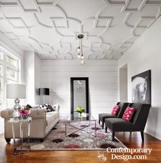 Living Room False Ceiling Design