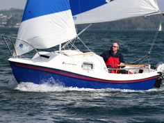West Wight Potter sailboats, the Potter 15 and Potter are a fantastic buy for the trailerable sailboat seeker. Cool Boats, Small Boats, Off The Map, Beyond The Sea, Boat Stuff, Sailing Ships, Sailing Boat, Sail Away, Gallery