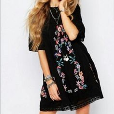 LOOKING FOR black free people embroidered dress. Looking for dress in black Free People Dresses