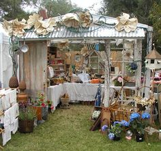 Becky of Whimsies / Photo's of Our June TVM 2012 Show Early Friday Morning Before We Opened