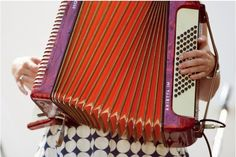 Accordion. An instrument I wish I knew how to play.