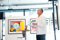 13.juni 2012 inviterte vi til foredrag om #Pushwagner med Peter Mejlænder #art #kunst #vernissage #utstilling Juni