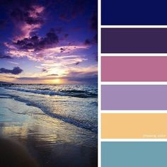 Shades Of Sunrise On The Sea (Photo Credit • oichann.tumblr.com) #chasingcolor #colorthemes #colorful #color #palette #colorpalette #shades #tones #hues #colorinspiration #inspiration #creative #art #photography #design #theme #sky #sunset #sunrise #sun #ocean #sea #water #waves #beach #sand #blue #purple #pink #yellow