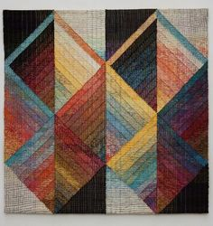 Judith Poxson Fawkes - Marriage - 2011 linen inlay tapestry