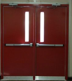 Exterior Steel Double Doors security screen doors for double entry | entry doors & gates from