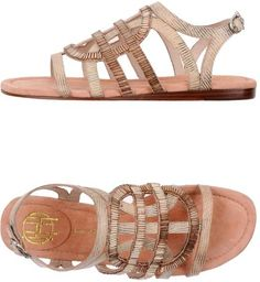beaded sandals. House of Harlow. love.