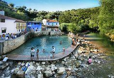 Praia Fluvial Agroal  - Portugal