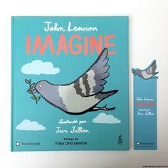 'Imagine', de John Lennon, se convierte en un álbum ilustrado que promueve la educación por la paz
