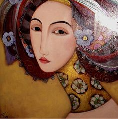 Faiza Maghni - from Oran, Algeria now lives in Paris