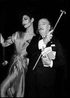 """opsena: """" Potassa de la Fayette & Salvador Dali, 1983, Paris? """""""