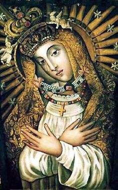 The Most Holy Mother of God Byelorussian ,18th century