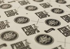 Rakinos Fish & Chips Food Packaging, Packaging Design, Fish And Chip Shop, Food Truck Design, Design Inspiration, Design Ideas, Fish And Chips, Atrium, Logo Branding