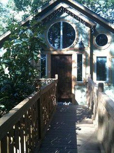 Entryway to our Tree House   Eureka Springs, Arkansas