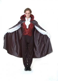 déguisement vampire homme Halloween grande taille