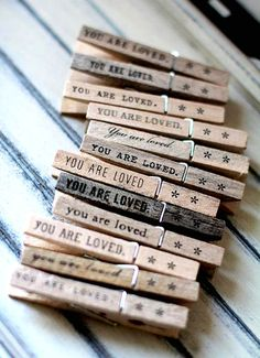 You are loved pins!