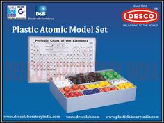 One of the most interesting and desired product available at Plastic Labware India is the Atomic Model Sets. It is interesting because it makes your experience of learning chemistry interesting.