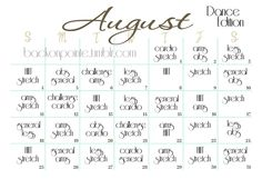 August Workout Plan