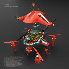 Atlas by Drono represents the ultimate vision of a fully autonomous UAV able to perform search and rescue duties as well as persistent security and overwatch in designated geo-fences. Rc Drone With Camera, Buy Drone, Drone Diy, Small Drones, Pilot, Remote Control Drone, Flying Drones, Drone Technology, Search And Rescue