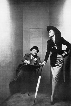 Carl Erickson and Elise Daniels, New York Artist:Irving Penn (American, Plainfield, New Jersey Fashion Art, Fashion Models, Vintage Fashion, Irving Peen, Jeanne Lanvin, Androgynous Fashion, Art Deco Era, Mccalls Patterns, Contemporary Fashion