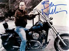 Bruce Willis and Harley-Davidson