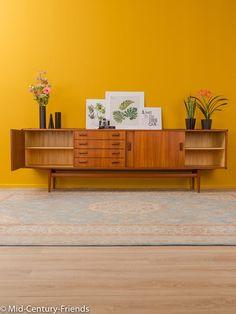 50er Sideboard Musterring 50er Vintage 708023 | Etsy Teak, Credenza, Modern, Cabinet, Storage, Design, Vintage, Home Decor, Art