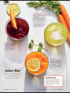 """Juice Bar"" from Coastal Living, April 2018. Read it on the Texture app-unlimited access to 200+ top magazines."