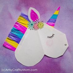 DIY Unicorn Valentine Paper Puppet DIY Unicorn Valentine Paper Puppet Everyone loves unicorns; especially when they're as colorful as this DIY Unicorn Valentine Paper Puppet! Delight your friends with this magical creature! Valentine's Day Crafts For Kids, Valentine Crafts For Kids, Valentines Diy, Toddler Crafts, Preschool Crafts, Diy For Kids, Holiday Crafts, Fun Crafts, Creative Crafts