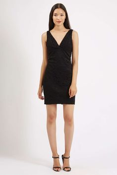 PETITE Lace Bodycon Tunic - Dresses - Clothing - Topshop