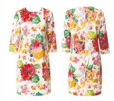 Sewing Pattern . Dress with 3/4 Sleeve . Schnittmuster: Etuikleid nähen - eine Anleitung zum Selbernähen - BRIGITTE