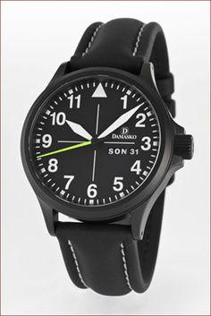 Damasko USA German Precision Watches - DA36 Black Automatic Watch