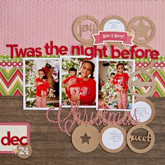 Twas the Night Before Christmas by Katie_Rose using Jillibean Soup and PageMaps | Scrapbook.com