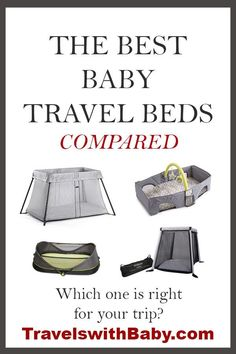 Don't travel the world without one!-) Recommendations of the best baby travel beds and portable toddler beds, plus sleeping solutions for preschoolers and families traveling with children from infants through kindergarten. Portable Toddler Bed, Toddler Travel Bed, Baby Travel Bed, Portable Crib, Traveling With Baby, Travel With Kids, Family Travel, Packing Tips For Travel, Travel Essentials
