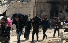Los civiles de Guta Oriental abandonan la ciudad por el corredor humanitario (vídeo)