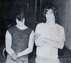 Glenn Danzig and Henry Rollins; October 1984.