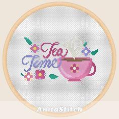 Unicorn Cross Stitch Pattern, Cute Cross Stitch, Cross Stitch Heart, Fuse Bead Patterns, Modern Cross Stitch Patterns, Cross Stitch Designs, Embroidery Art, Cross Stitch Embroidery, Embroidery Patterns