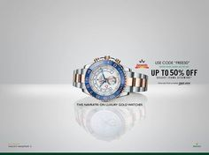 """#Rolex Special #NAVRATRI #SALE #Offers & #Discounts on www.digaaz.com. Get best discounts on #Luxury #Watches From #Rolex, #Hublot, #Omega, #Chopard and many more direct from the factory outlets .  Watches with 2 years Global warranty,pay on COD, 14 days refund policy.   Shop at : Digaaz  Use Code """"FREE50"""""""