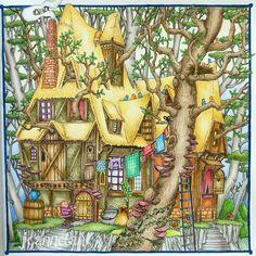 From Tomislav Tomic's beautiful coloring book Zemlya Snova.