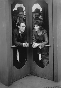 Harold Lloyd with Bebe Daniels  circa 1919