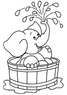 Cute Easy Drawings, Art Drawings For Kids, Pencil Art Drawings, Art Drawings Sketches, Drawing For Kids, Animal Drawings, Cute Coloring Pages, Animal Coloring Pages, Coloring For Kids