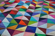 holy color! also love the straight double line quilting