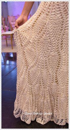 Sweet Nothings Crochet Diving Long Ladies Skirt