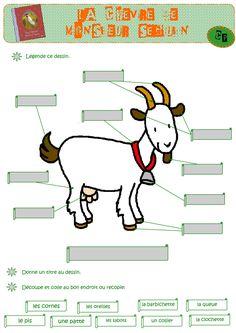 La Chèvre de M. Seguin Bed Sheet Sets, Learn French, Some Fun, Recherche Google, Farm Animals, Grammar, Goats, Science, Teaching