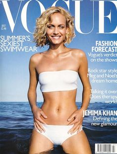 Vogue UK July 1998 - Amber Valletta
