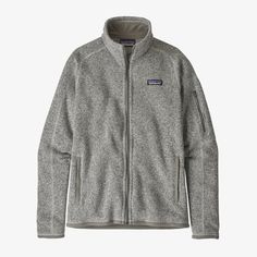 Patagonia Women's Better Sweater® Fleece Jacket Patagonia Outfit, Polyester Material, Cool Sweaters, Outdoor Outfit, Mode Style, Sweater Jacket, Pulls, Knitting, Cowls