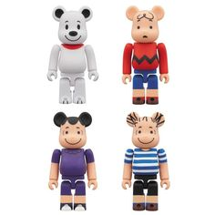 "Medicom Toy Bearbrick 2012 ""PEANUTS"" Collection"
