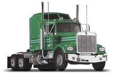 1/25 Kenworth W900 (rmx851507) Revell-Monogram Plastic Model Cars Trucks Vehicles 1:20-1:29 Scale