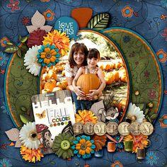 Layout: My Sweet Pumpkin