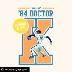 Nice @Regrann from @savethehiphopculture -  Yo that's my word can't wait for @strictlycassette to drop this cassette tape by @nycfjs #repost @strictlycassette with @repostapp.  The next tape from our long time homey #Jazzsoon  is almost ready! The Orange & Blue series kicks off with '84 Doctor K: a tribute to the legendary Dwight Gooden. Stay tuned for updates on this very special release. For now you can peep out a bunch of his joints right here on IG. Go follow @nycfjs #strictlycassette…