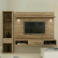 Home Decor: 20 Diy Handmade Simple Pallet Tv Units Tv Unit Design, Tv Wall Design, House Design, Tv Furniture, Pallet Furniture, Rack Tv, Muebles Living, Tv Wall Decor, Living Room Tv