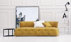 Canapé contemporain / tissu / en cuir DANDY by Centro Ricerca Arflex Arflex